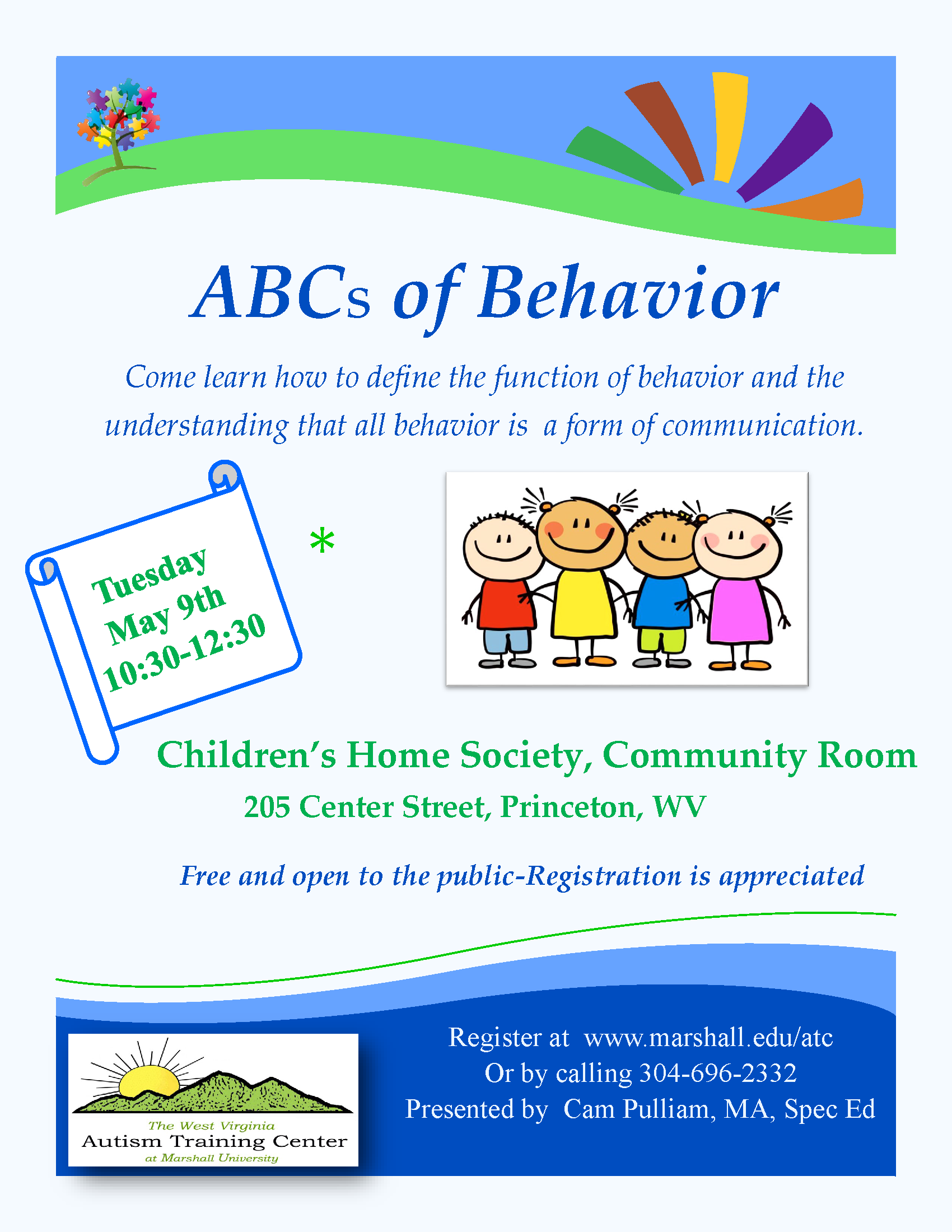 Wv colored childrens home - Register Below