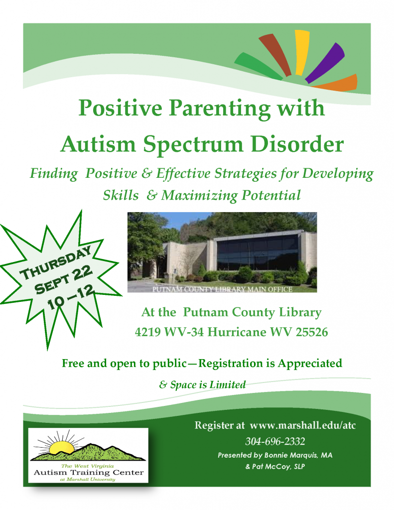 Putnam County Parent Training