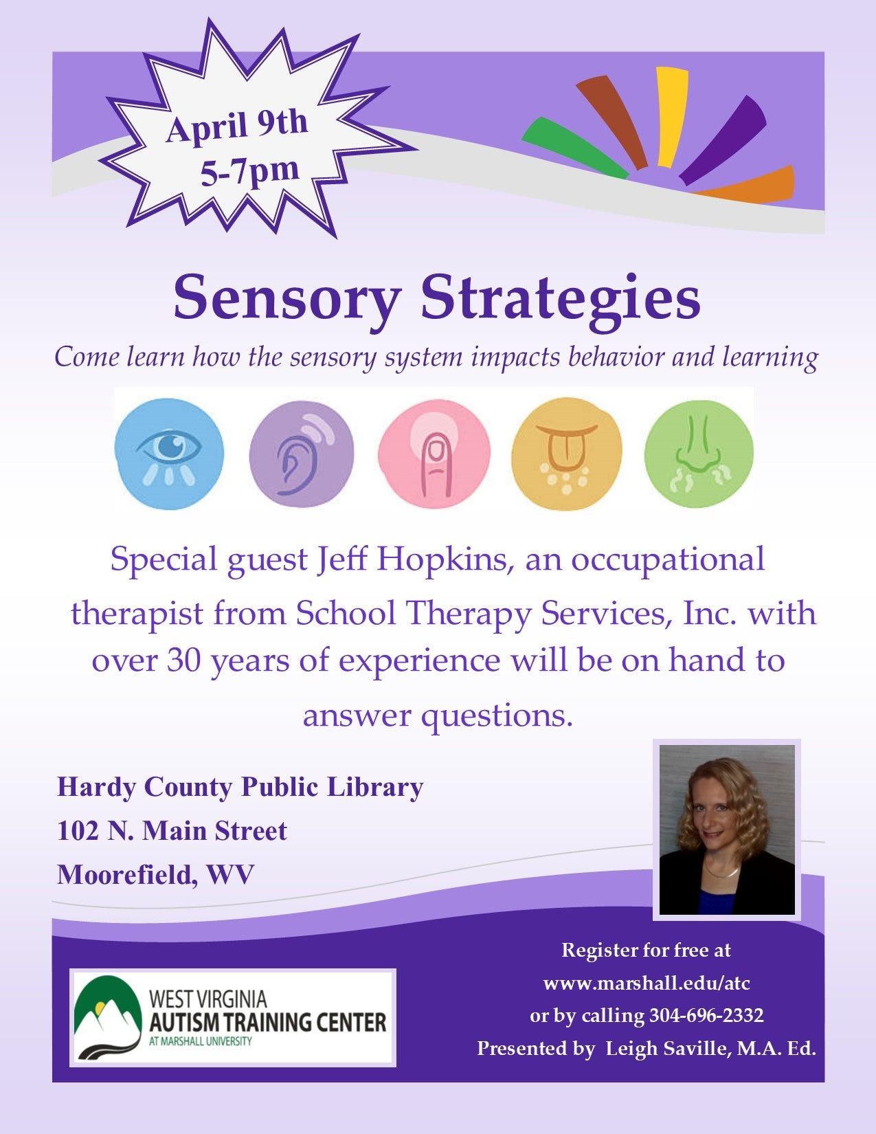 Hardy County Sensory Strategies
