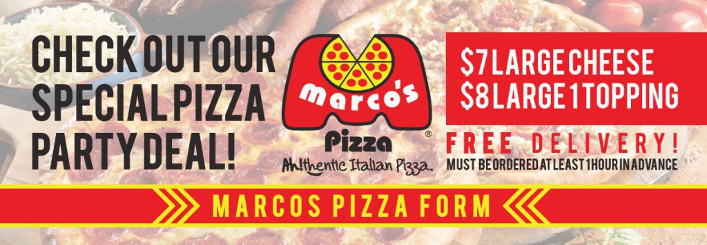 Marco's Pizza Promotion
