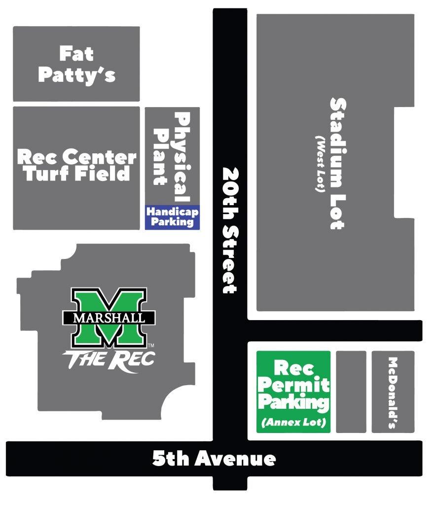 Marshall Center Halloween 2020 Rec Center Parking   Campus Recreation
