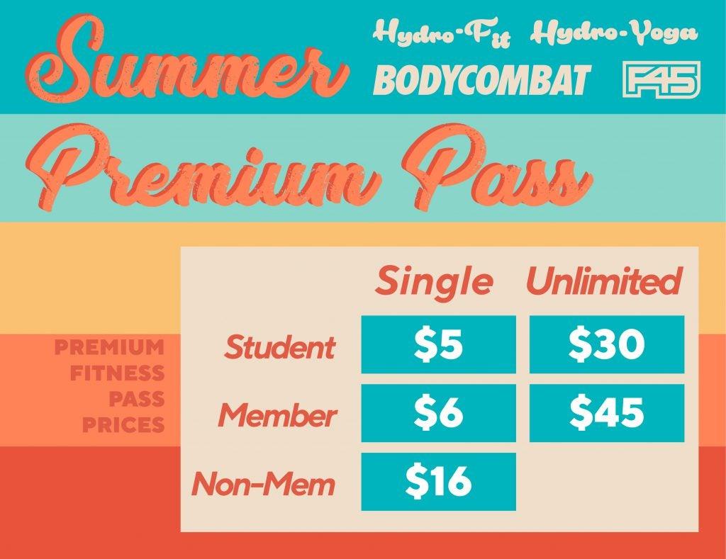 Summer Premium Fitness Class Pass