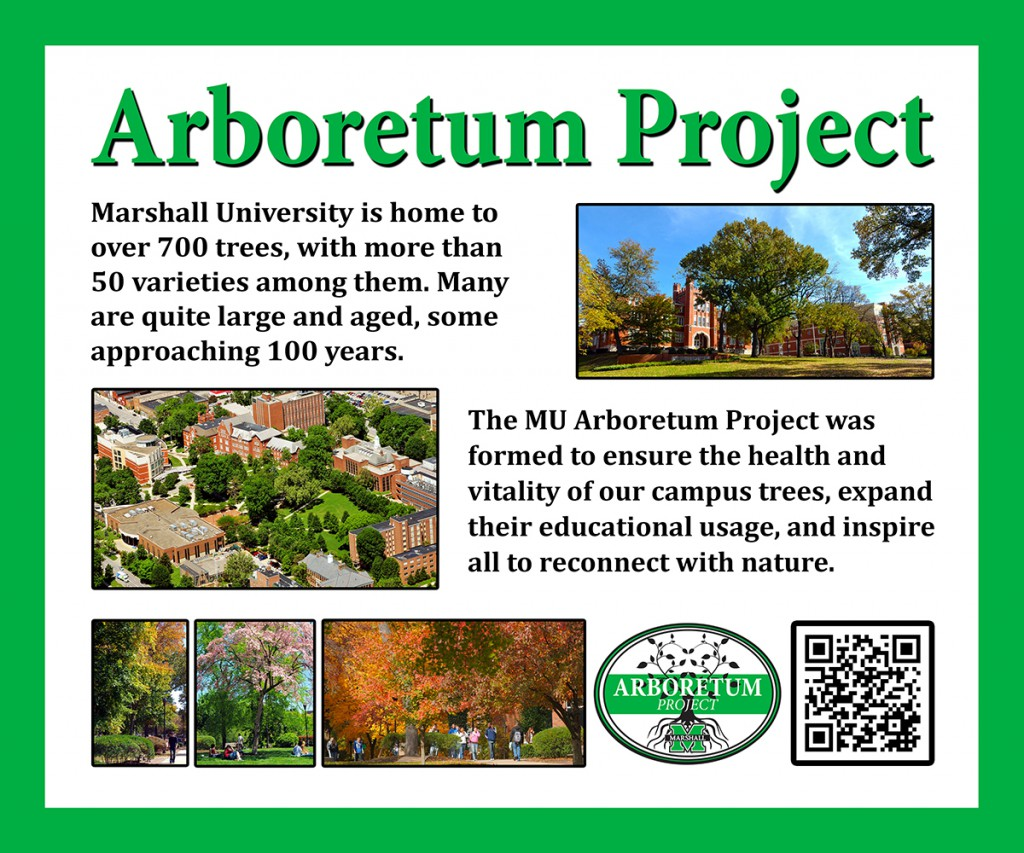 Arboretum Project Sign
