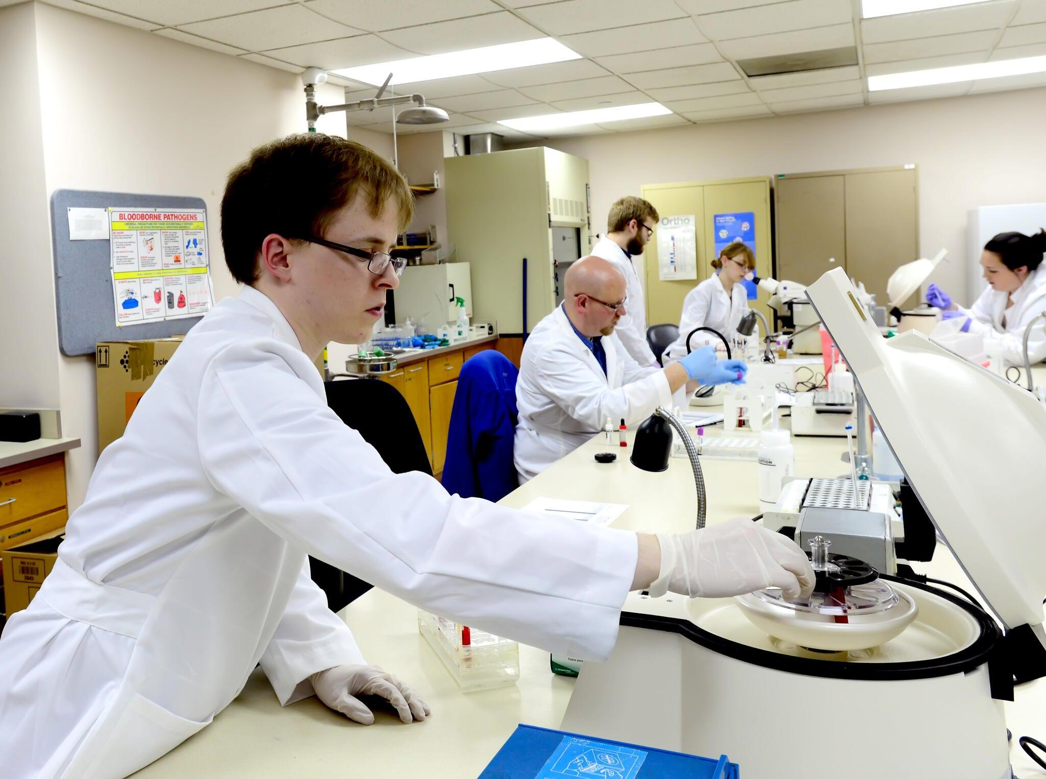 Programs U2014 Clinical Laboratory Science   Clinical Laboratory Science    Marshall University