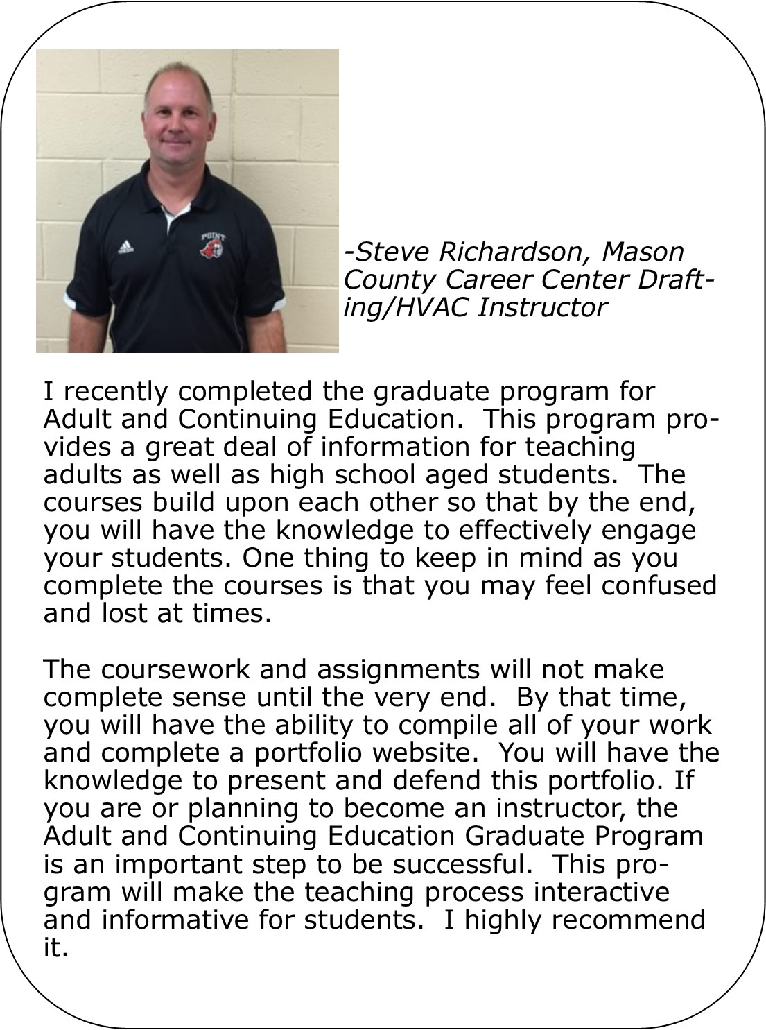 Adult career continuing education are absolutely