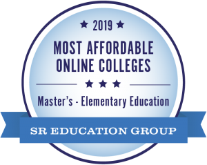 2019 Most Affordable Online Colleges for Master's Elementary Education