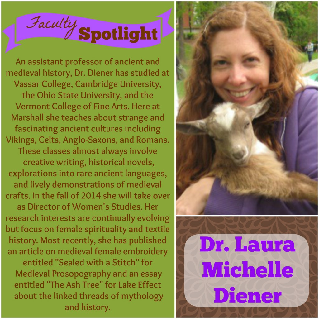 Dr. Laura Michelle Diener Faculty Spotlight