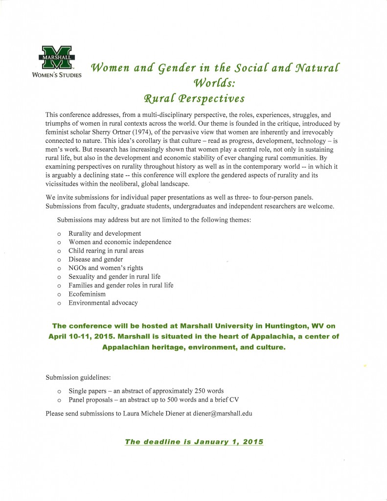 Call for Papers & Panels