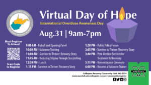 Virtual Day of hope Digital Flyer