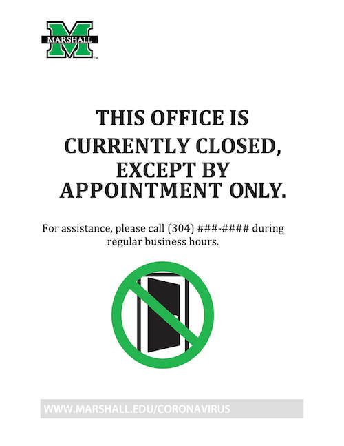 Office Closure Template image