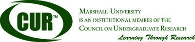 Marshall University is an institutional member of the Council on Undergraduate Research - Learning Through Research