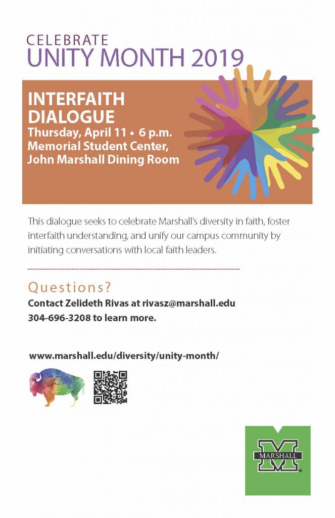 Interfaith Dialogue – President's Commission on Diversity