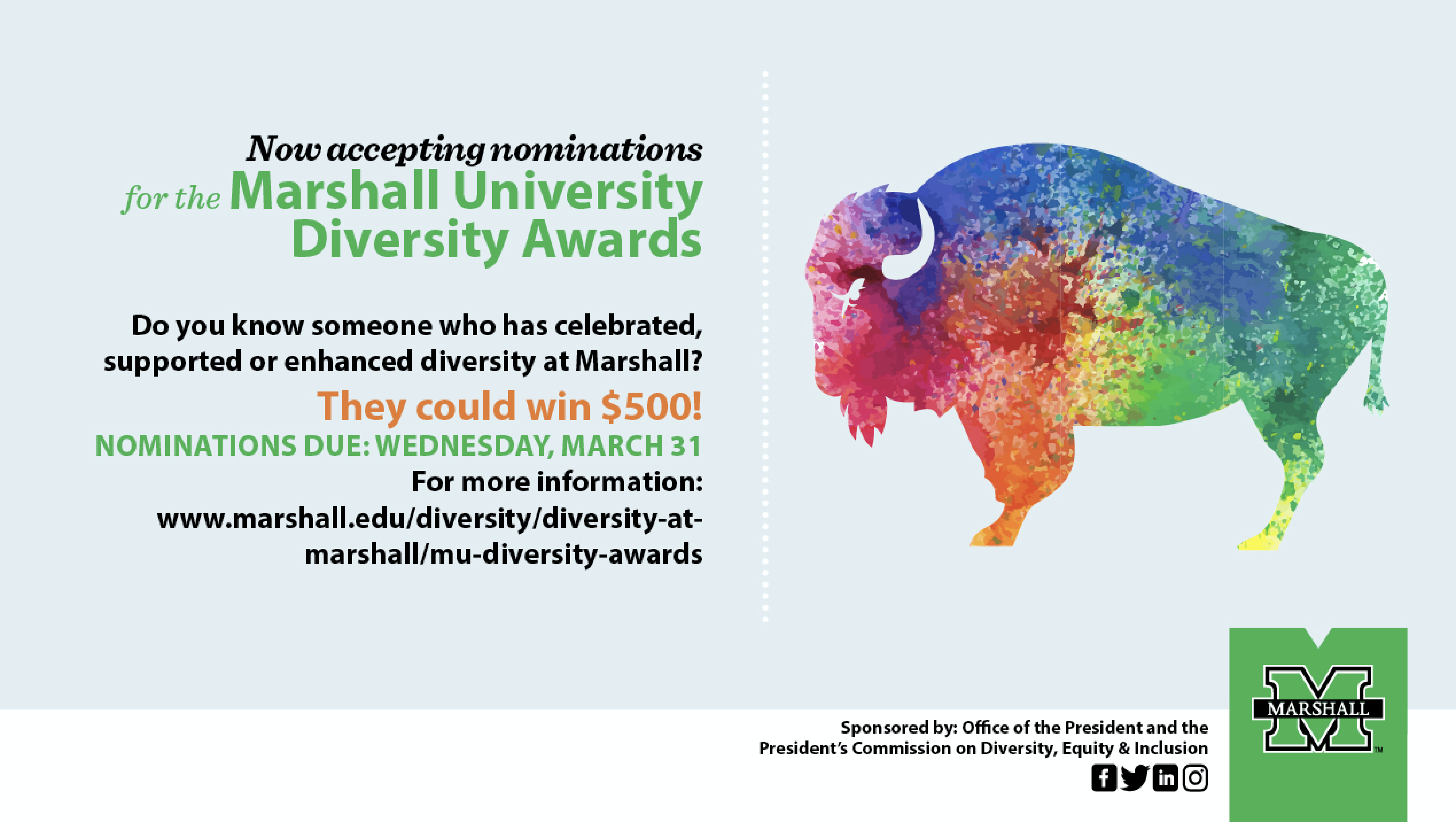2021 Diversity Awards Graphic