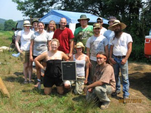 MU Archaeological Fieldschool of 2010