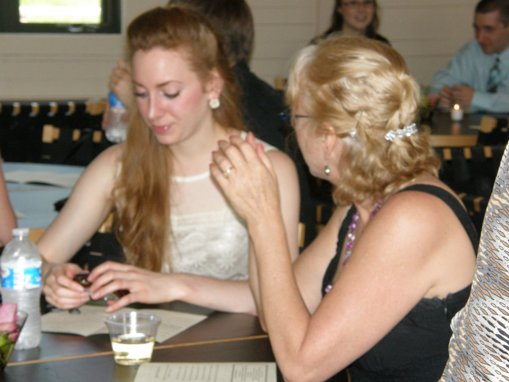 Sociology student, Rachel Buel and her mom, at the 2012 Spring Awards Ceremony at Ritter Park's Room with a View.