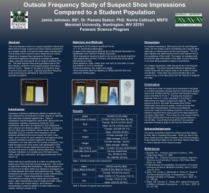 Outsole Frequency Study of Suspect Shoe Impressions Compared to a Student Population