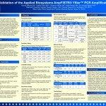 Validation of the Applied Biosystems AmpFlSTR® Yfiler™ PCR Amplification Kit