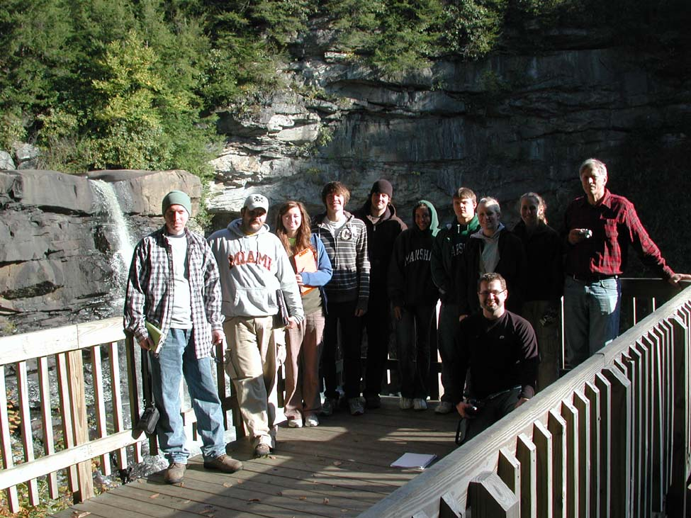 Obsservation deck at Blackwater Falls