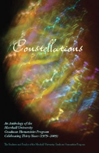 Constellations, a faculty-student book project celebrating our 30th anniversary.