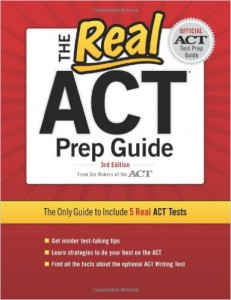 The Real ACT Prep Guide ISBN 076893432X