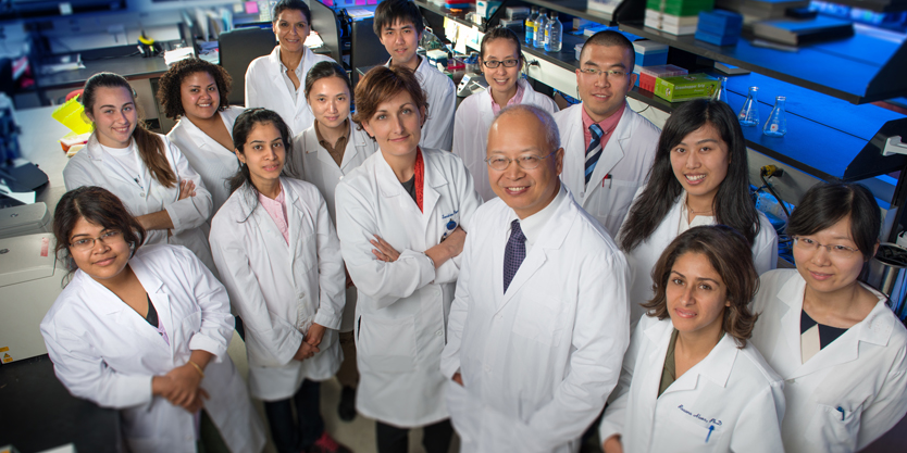 A group of researchers