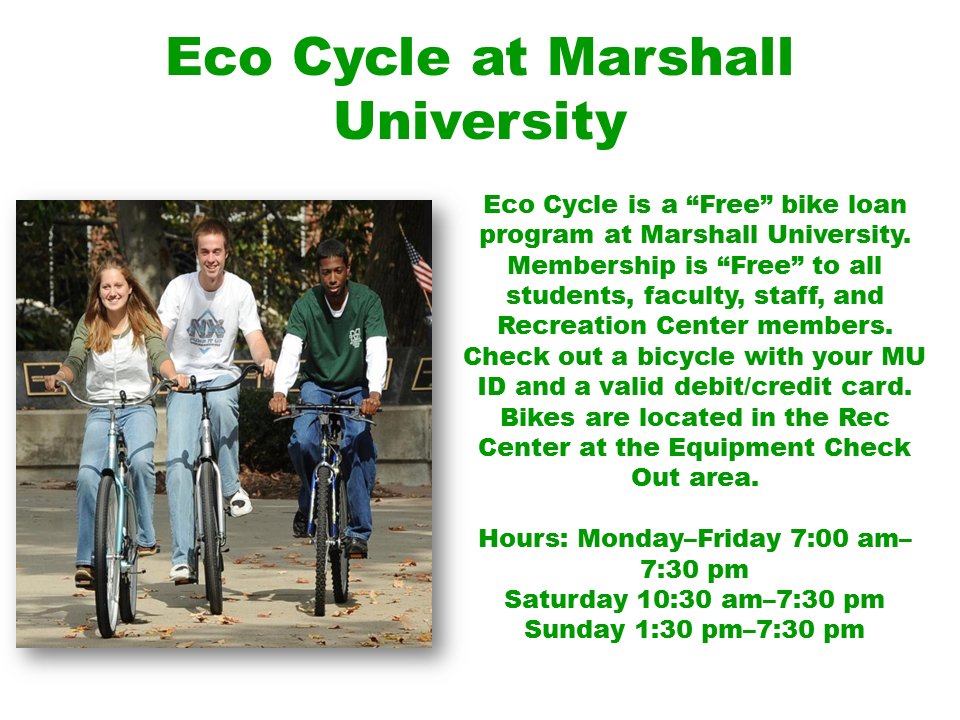 Eco Cycle at Marshall