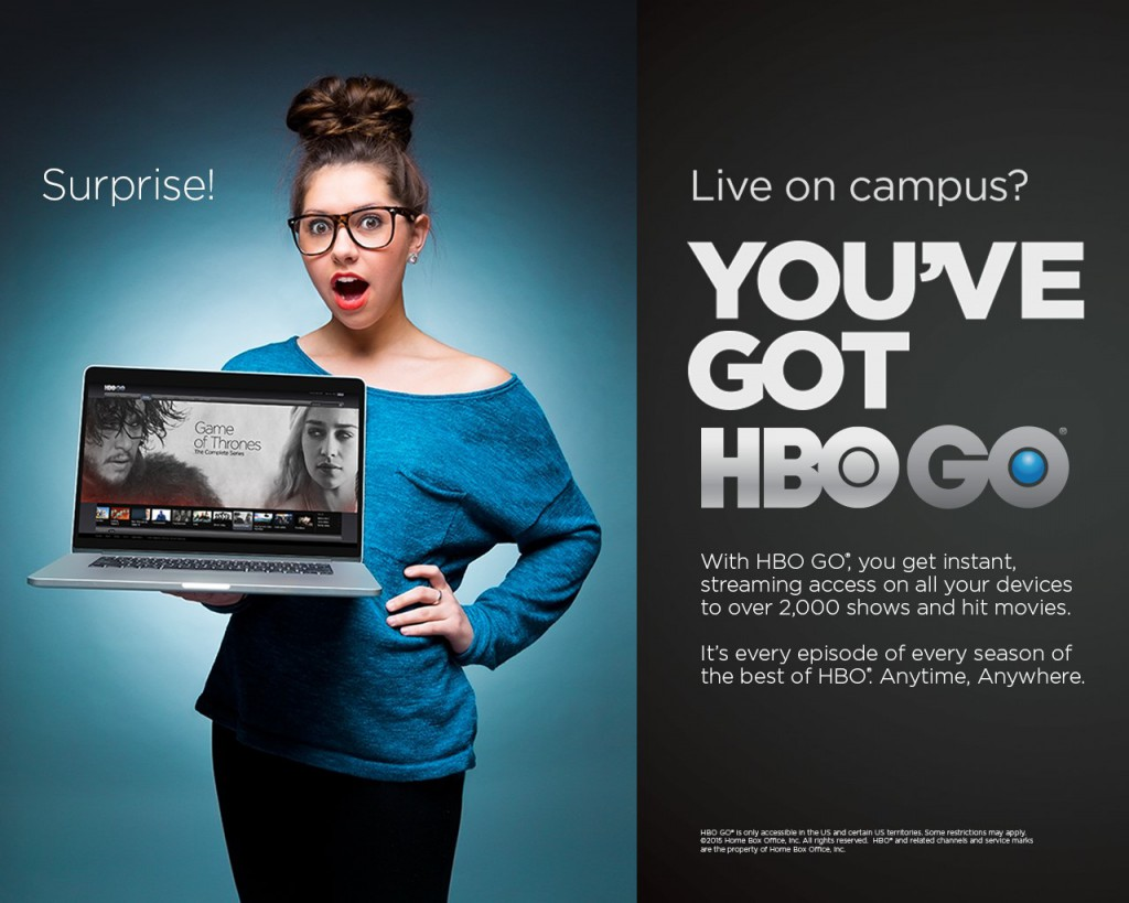 HBO Go Now on Campus