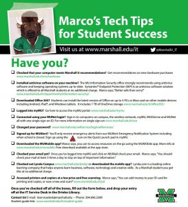 Marco's Tech Tips for Student Success