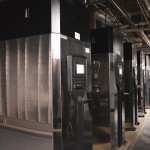 The boiler system in the Engineering Complex is highly efficient.