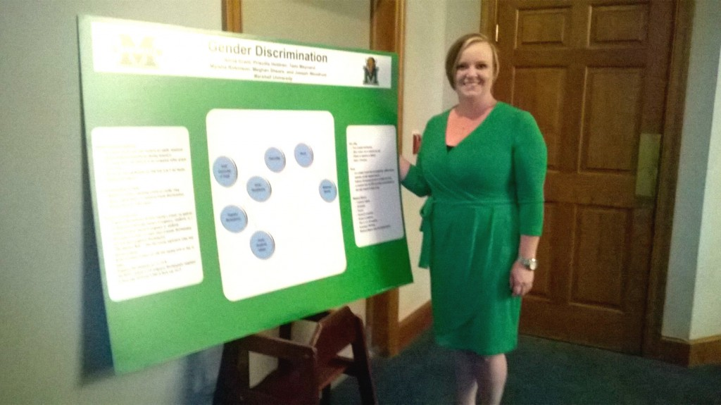 Meghan Shears presents research on gender diversity