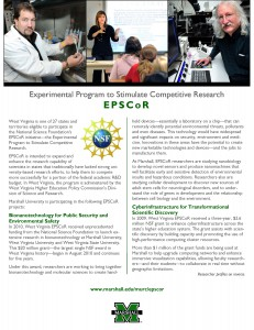 EPSCoR at Marshall fact sheet