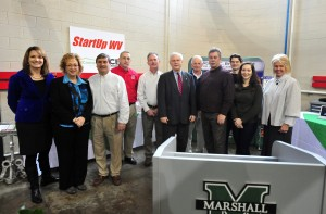 Photo of StartUp WV Manufacturing presentations