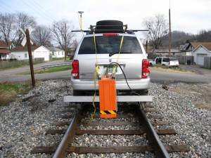 Photo of railroad track inspection system