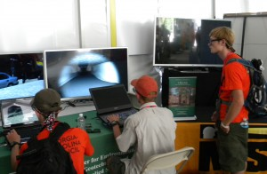 Photo of CEGAS exhibit at Jamboree