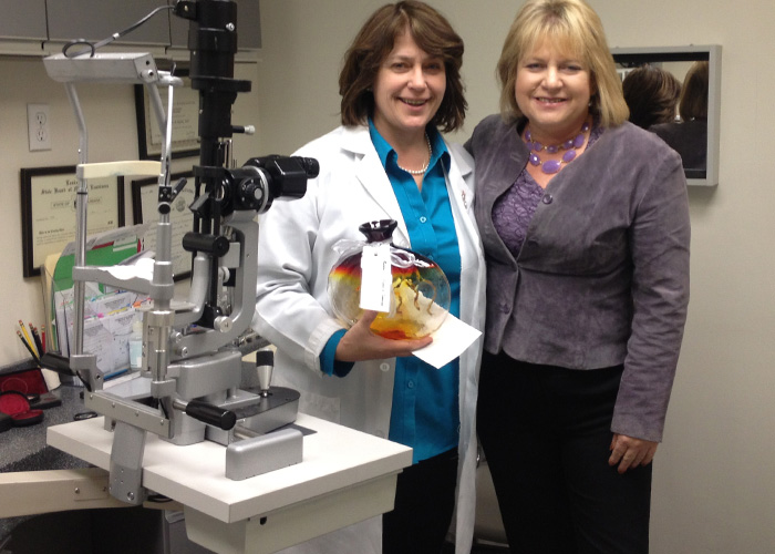 Photo of Dr. Stephanie Skolik with Dr. Jan Fox