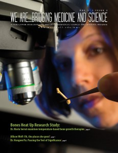 Cover of We Are...Bridging Medicine and Science 2013