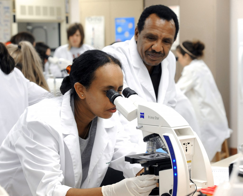 Photo of researchers to illustrate LSAMP program