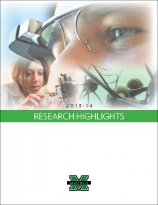 Cover of Research Highlights 2013-14