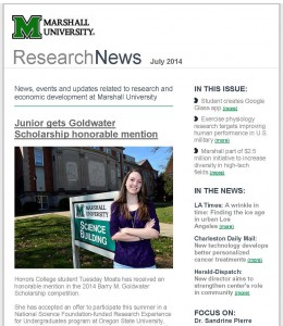 Cover of ResearchNews - July 2014