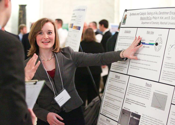 Photo from Undergraduate Research Day