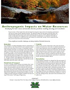 Water Research Fact Sheet
