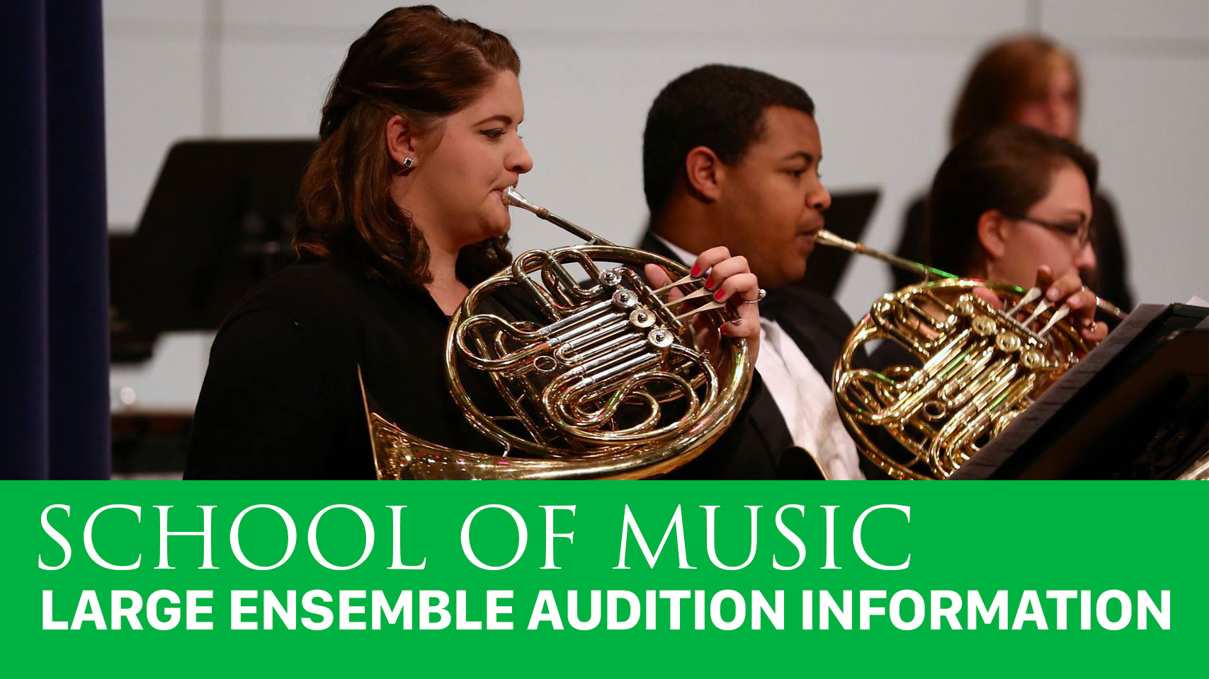 Large Ensemble Auditions