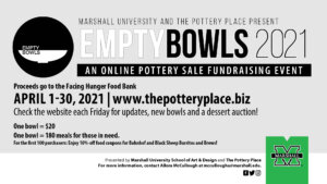 Graphic for Empty Bowls 2021 event