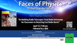 Graphic for Faces of Physics April 12