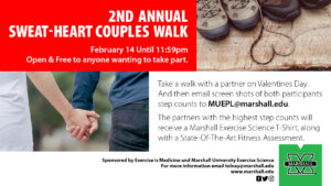 Graphic for Sweat-Heart Walk