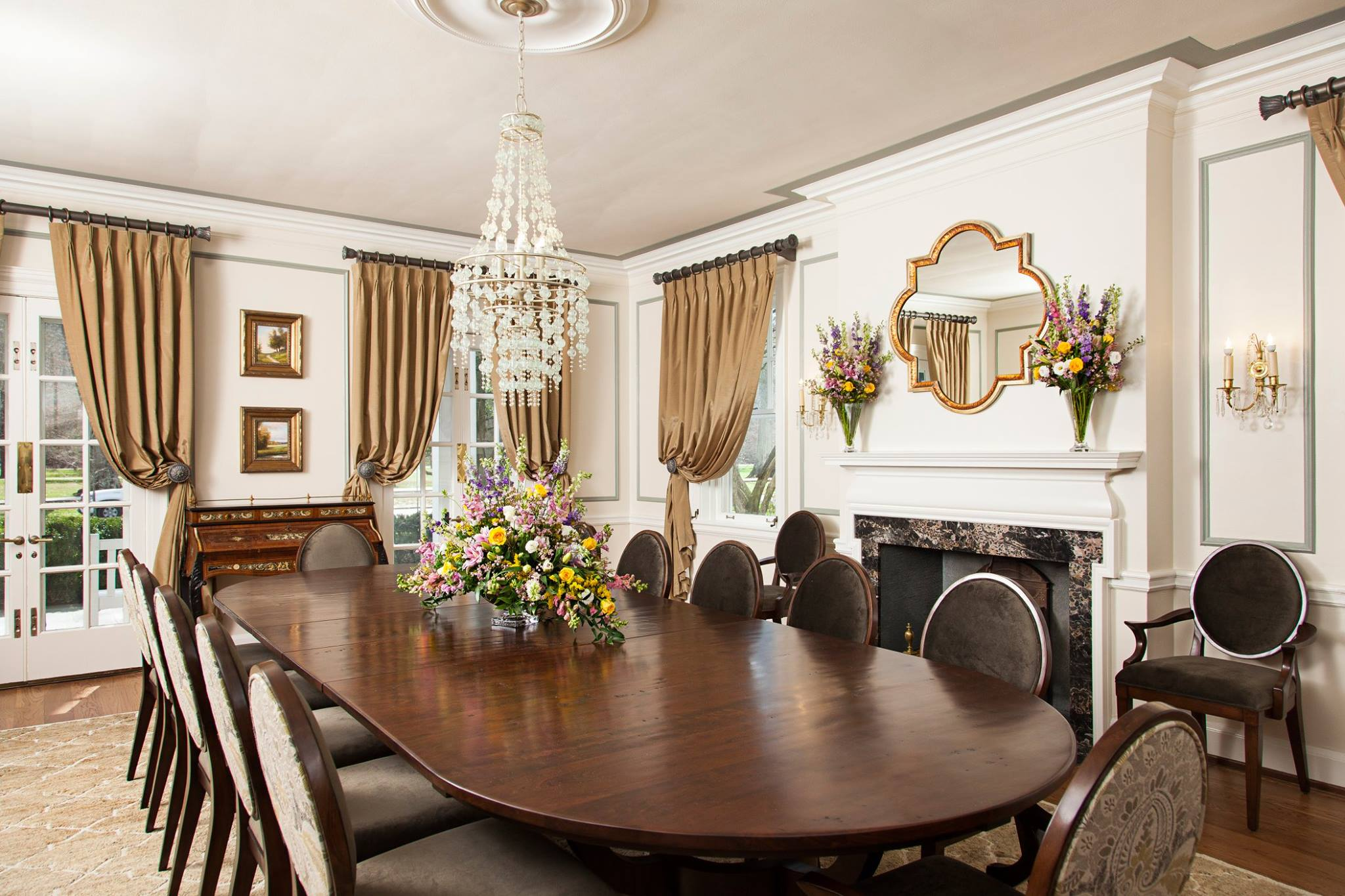 Dining Room After -Tracy Toler