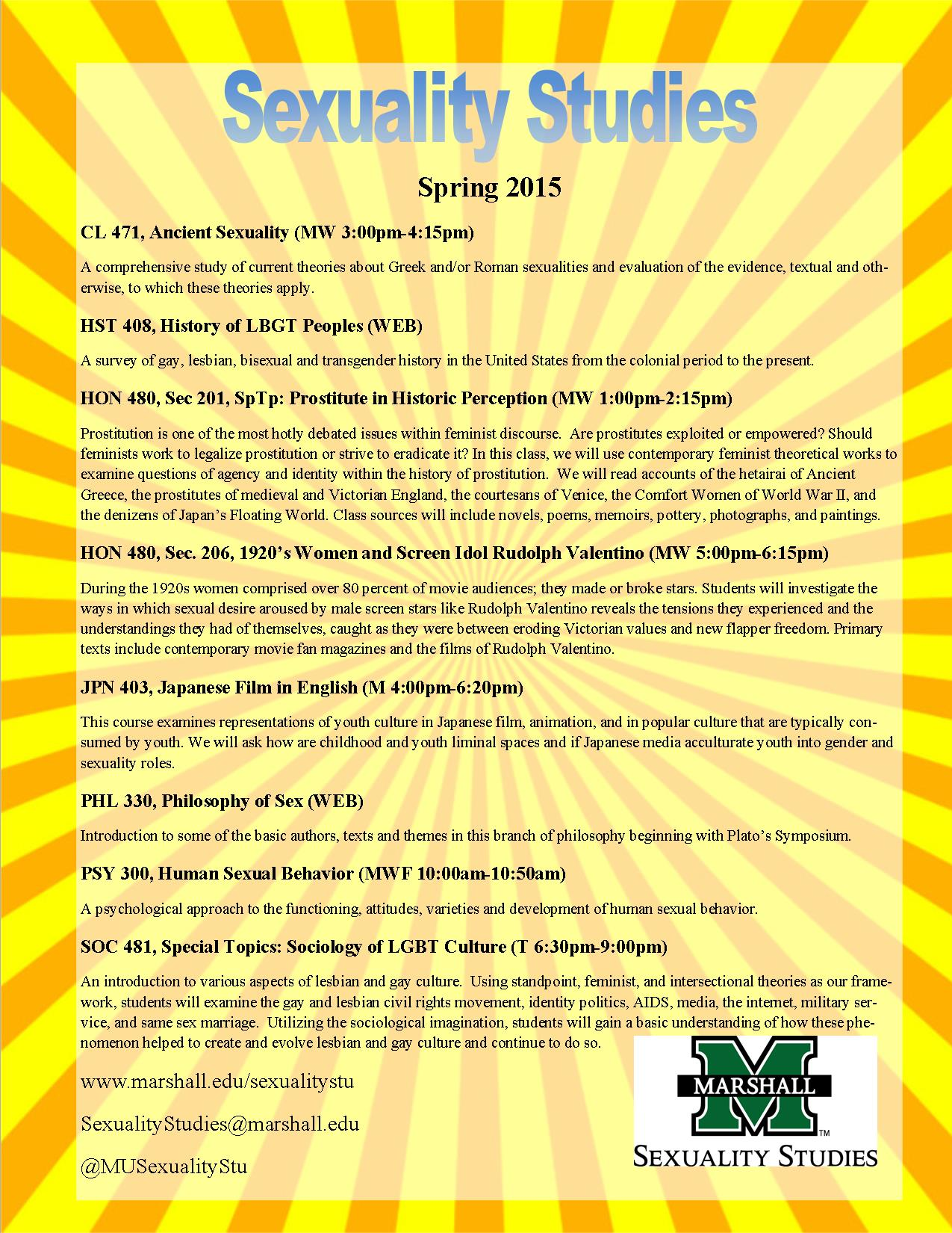 2015 Sexuality Studies spring course list v2