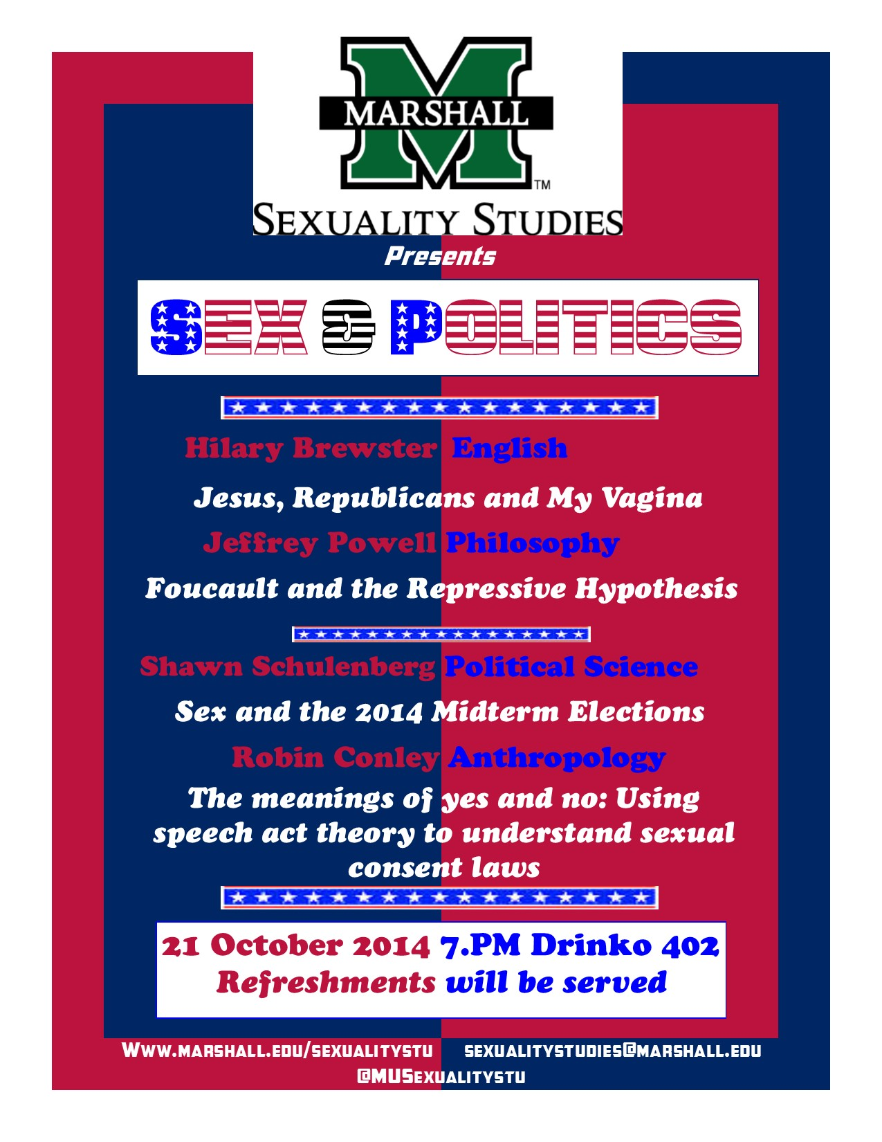 Sex and Politics 2014