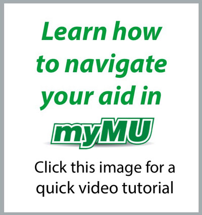 Video Tutorial on how to Navigate your aid in myMU.