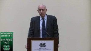 Issacharoff Lecture Photo